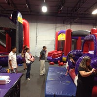 Photo taken at Bounceu Fishers by Anthony P. on 8/23/2014