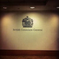 Photo taken at British Consulate General by Kalli B. on 6/19/2014