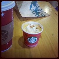 Photo taken at Starbucks by Duy B. on 11/2/2012