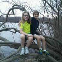 Photo taken at Milford/Kensington Trail by Myles D. on 4/16/2013