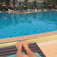 Photo taken at Lanta Resort by Juliana K. on 4/9/2014