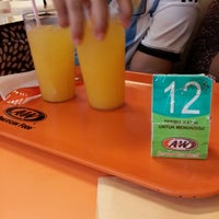 Photo taken at A&W by Agus Candra F. on 4/5/2014