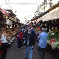 Photo taken at HaCarmel Market by Elena G. on 1/20/2013
