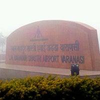 Photo taken at Lal Bahadur Shastri International Airport, Varanasi (VNS) by Punit D. on 1/23/2013