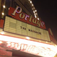 Photo taken at Portage Theater by Jay H. on 10/19/2014