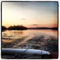 Photo taken at Highland Lake by Angela M. on 7/19/2013