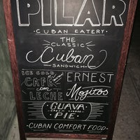 Photo taken at Pilar Cuban Eatery by R E. on 9/13/2015