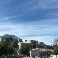 Photo taken at Scottish Parliament by Sean M. on 8/15/2016