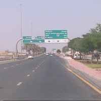Photo taken at Al Khawaneej Road شارع الخوانيج by ItsMβŚ ♚. on 10/18/2012