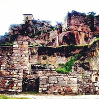 Photo taken at Golconda Fort by Dailami Daniel on 9/25/2013