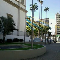 Photo taken at MetrôRio - Estação São Francisco Xavier by Sandra G. on 5/21/2013