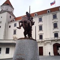 Photo taken at Bratislava Castle by Camryman on 10/14/2012