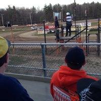 Photo taken at Albany-Saratoga Speedway by Amanda C. on 5/1/2015