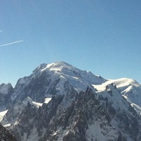 Photo taken at Les Grands Montets by Ilker E. on 3/2/2013