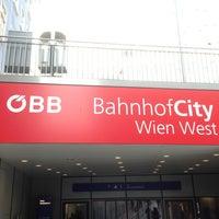 Photo taken at Wien Westbahnhof by N Y. on 3/28/2013