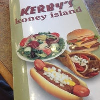 Photo taken at Kerby's Koney Island by Carlos B. on 11/1/2012