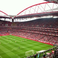 Photo taken at Estádio do Sport Lisboa e Benfica by F. I. on 5/6/2013