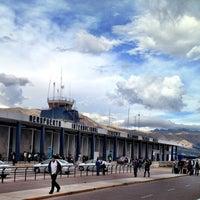 Photo taken at Aeropuerto Internacional Alejandro Velasco Astete (CUZ) by Lelex B. on 10/31/2012