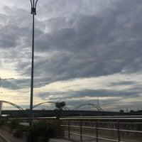Photo taken at Dechatiwong Bridge by Walaikorn K. on 7/26/2016