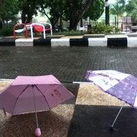 Photo taken at Fakultas Ilmu Komunikasi by Maharani Indah P. on 12/6/2012