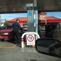 Photo taken at Oxxo Gas by Aldo D. on 12/16/2012