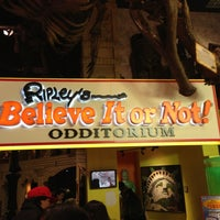 Photo taken at Ripley's Believe It Or Not! Times Square by Jason B. on 2/20/2013