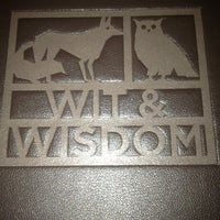 Photo taken at Wit and Wisdom, a Tavern by Michael Mina by William E. on 3/25/2013