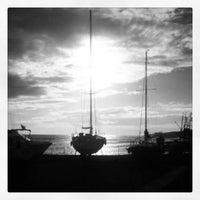 Photo taken at Porto di Leuca by Massimo B. on 12/27/2013