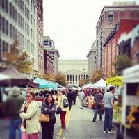 Photo taken at Penn Quarter FRESHFARM Market by Emil C. on 10/18/2012