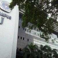 Photo taken at Kampus J Universitas Gunadarma by Satrio P. on 9/24/2012