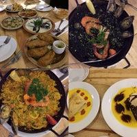 Photo taken at La Cocina Restaurant & Tapas Bar by N. Y. on 5/8/2016