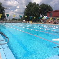 Photo taken at East Potomac Park Pool by Alison K. on 8/12/2016