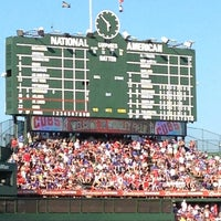 Photo taken at Wrigley Field by Timothy S. on 7/13/2013