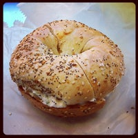 Photo taken at Bagelsmith Bedford by Dave C. on 10/11/2012