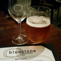 Photo taken at Bluestone Restaurant & Bar by vicbeeroclock on 6/6/2015