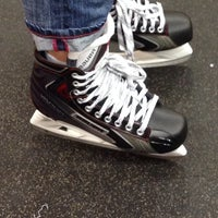 Photo taken at Hockey-X Superstore by Mike n Joi on 2/16/2014