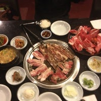 Photo taken at Palace Korean Bar & Grill by Maricel L. on 11/19/2012