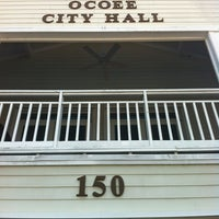 Photo taken at Ocoee City Hall by Brian M. on 8/6/2013