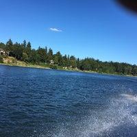 Photo taken at Willamette Jet Boat Tours by Naman M. on 7/3/2016