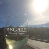 Photo taken at Regale Winery & Vineyards by Richard Dale on 12/17/2015