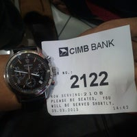 Photo taken at CIMB Bank by Amer A. on 3/5/2013