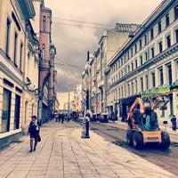 Photo taken at Улица Большая Дмитровка by Anna S. on 9/3/2013