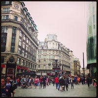 Photo taken at Leicester Square by Rowena U. on 8/17/2013