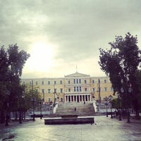 Photo taken at Syntagma Square by Alex M. on 4/14/2013