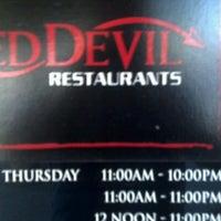 Photo taken at Red Devil Italian Restaurant & Pizzeria by Joey M. on 10/9/2012
