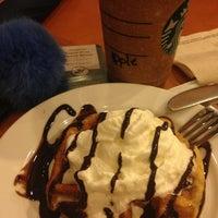 Photo taken at Starbucks Coffee by Apple O. on 5/12/2013