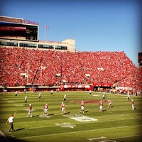 Photo taken at Memorial Stadium by Kim L. on 9/22/2012