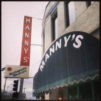 Photo taken at Manny's Mexican Restaurant by Benton on 4/15/2013