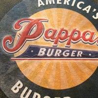 Photo taken at Pappas Burger by Ben R. on 3/10/2013