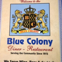 Photo taken at Blue Colony Diner by William D. on 12/5/2012